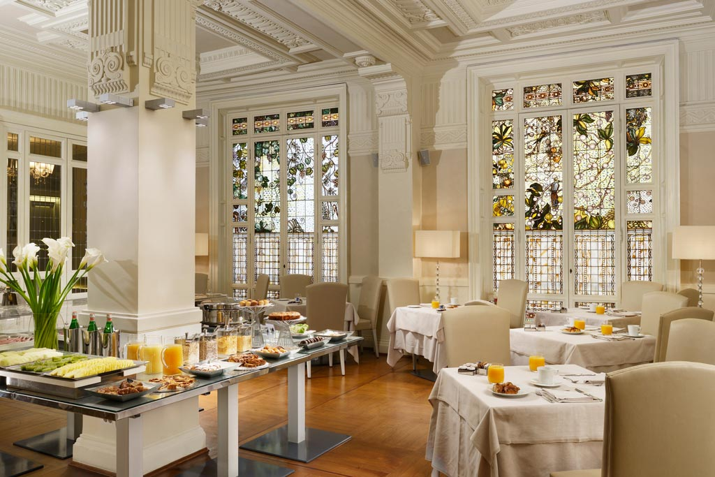 Breakfast at the Hotel Brunelleschi