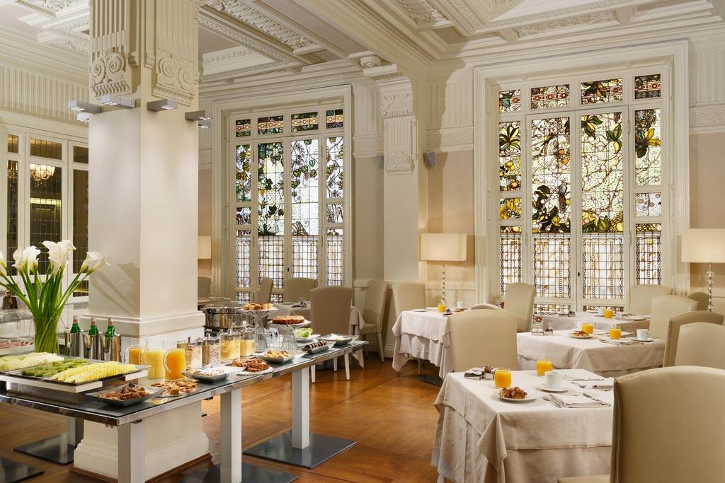 Breakfast at the Hotel Brunelleschi