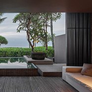 Lounge at Soori Bali, Kelating, Indonesia