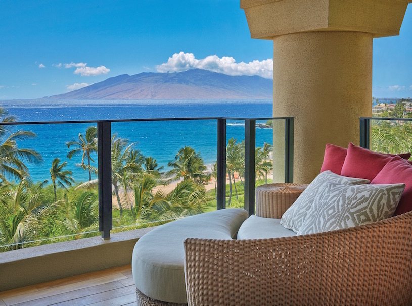 Four Seasons Maui at Wailea Maile Suite Lanai