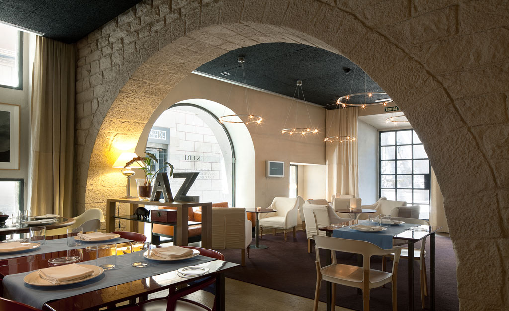 Lounge at Neri Hotel, Barcelona, Spain