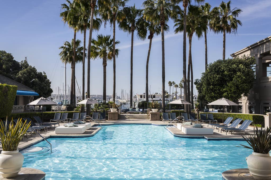 Outdoor Pool at Ritz Carlton Marina Del Rey, Marina Del Rey, CA