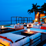 Ocean Side Beach Club at Putahracsa Hua Hin, Hua Hin, Thailand