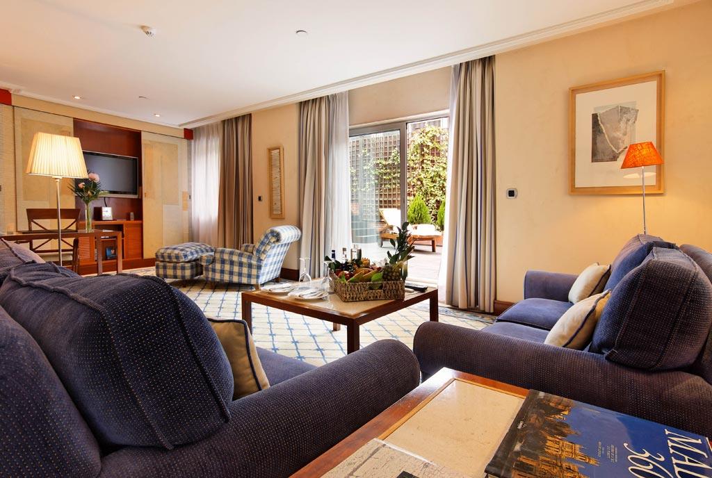Royal Suite at Hesperia Madrid, Madrid, Spain