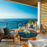 Terrace Lounge with Views at Chileno Bay Resort & Residences, Cabo San Lucas, B.C.S., Mexico