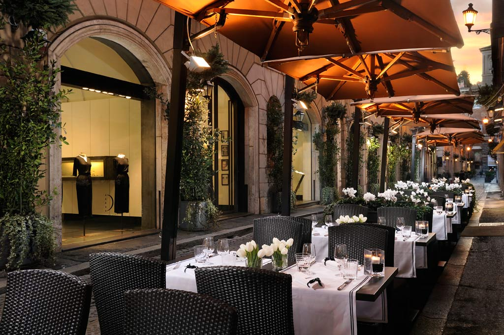 Dine at Hotel d'Inghilterra Rome, Italy