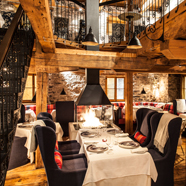 Dine at Auberge Saint-Antoine, Quebec City, PQ, Canada