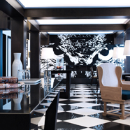 Lobby of The Chess Hotel, Paris, France