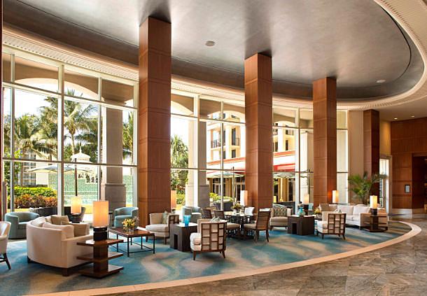 Lounge at Marriott Singer Island Beach Resort, Singer Island, FL