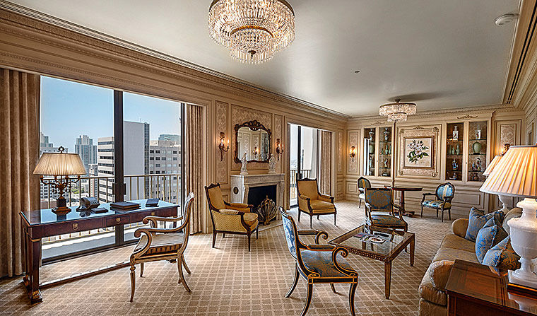 Presidential Suite at The Westgate Hotel, San Diego, CA
