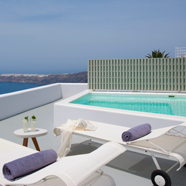 VIP Plunge Pool Suite at Grace Santorini, Santorini, Cyclades, Greece