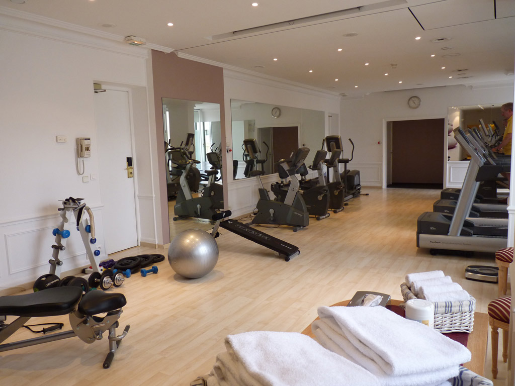 Fitness Center at InterContinental Carlton Cannes, Cannes, France