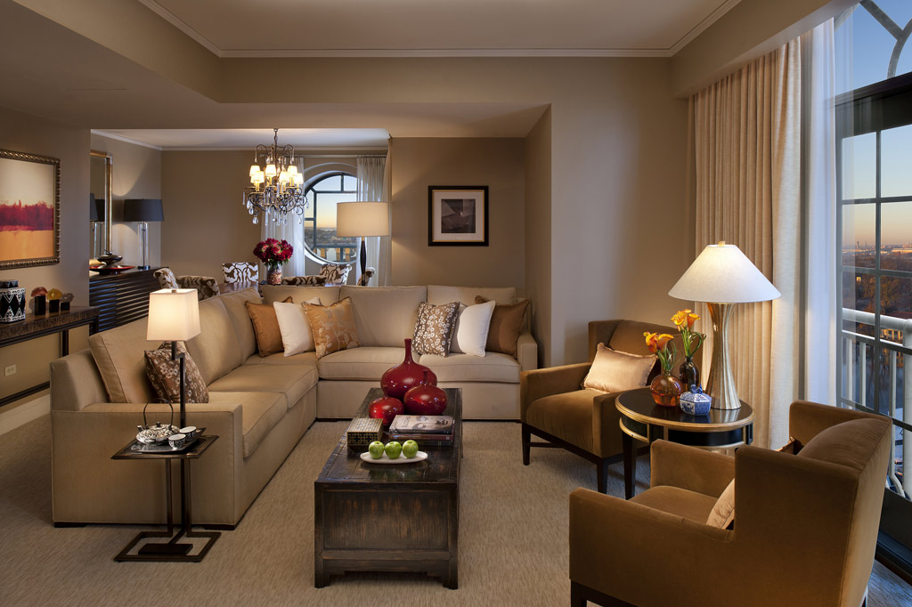Oriental Suite Living Room at Mandarin Oriental Washington, DC, United States