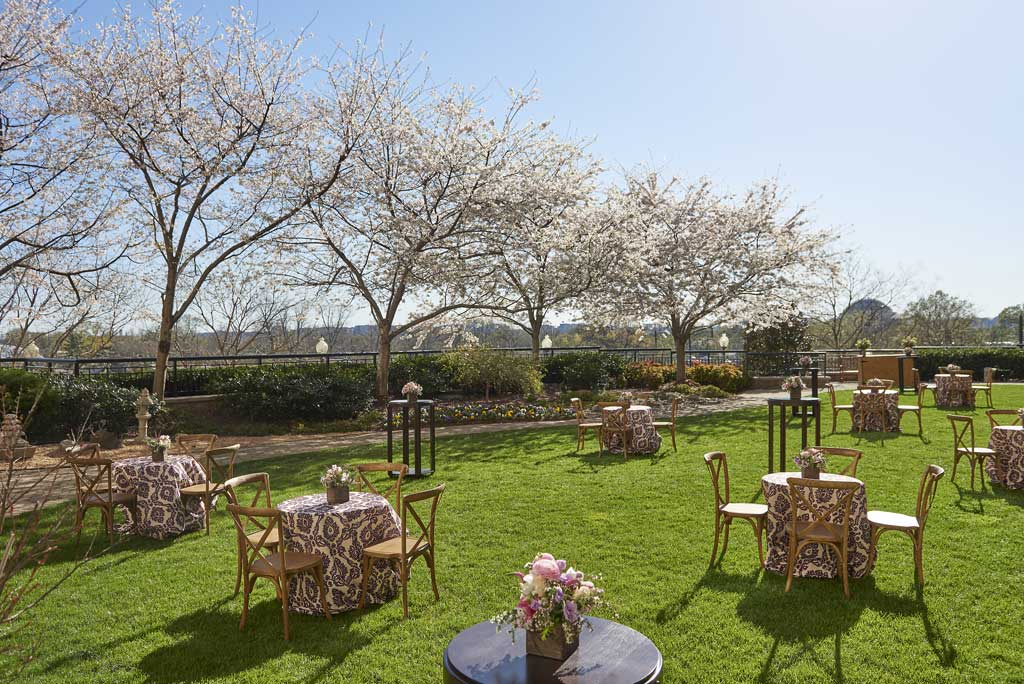 Garden Banquets at Mandarin Oriental Washington, DC, United States