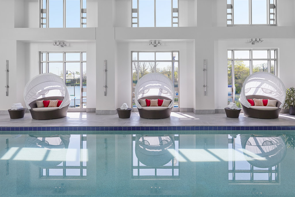 50 Foot Lap Pool at Mandarin Oriental Washington, DC, United States