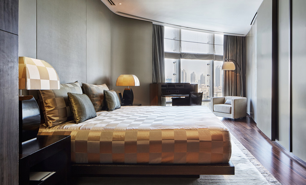 Deluxe Guest Room at Armani Hotel Dubai, Dubai, United Arab Emirates