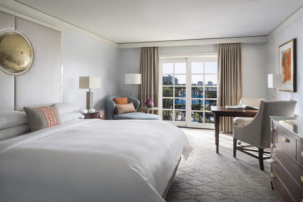 Deluxe King Guest Room at Ritz Carlton Marina Del Rey, Marina Del Rey, CA