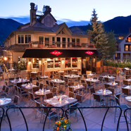 Ajax Terrace Dining at The Little Nell, Aspen, CO