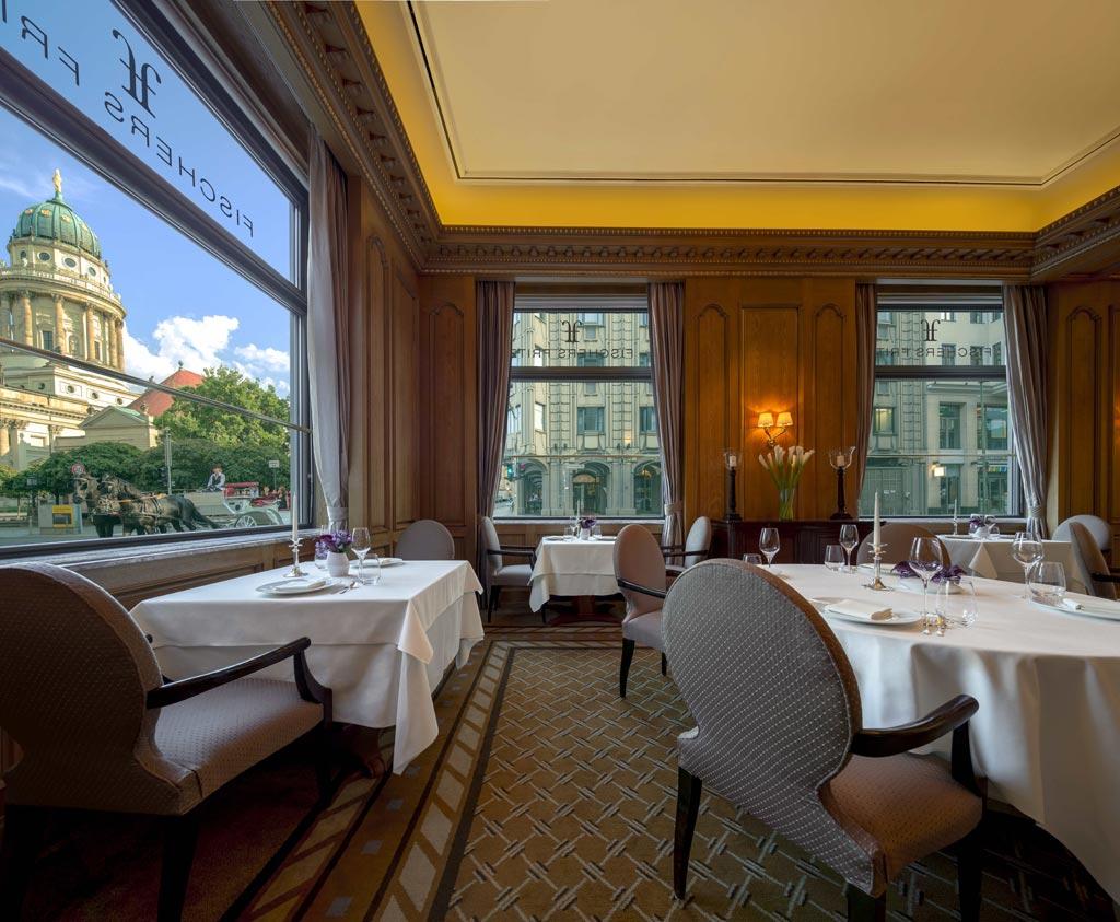 Fischer's Fritz Dining Room at The Regent Berlin, Germany