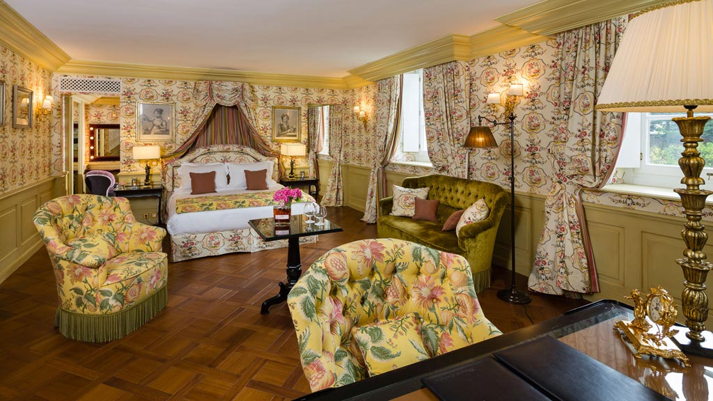 Guest Room at Chateau de Mirambeau, France