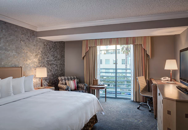 Guest Room at Santa Monica Le Merigot, Santa Monica, CA