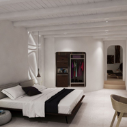 Guest Room at Absolut Mykonos, Mykonos, Cyclades, Greece