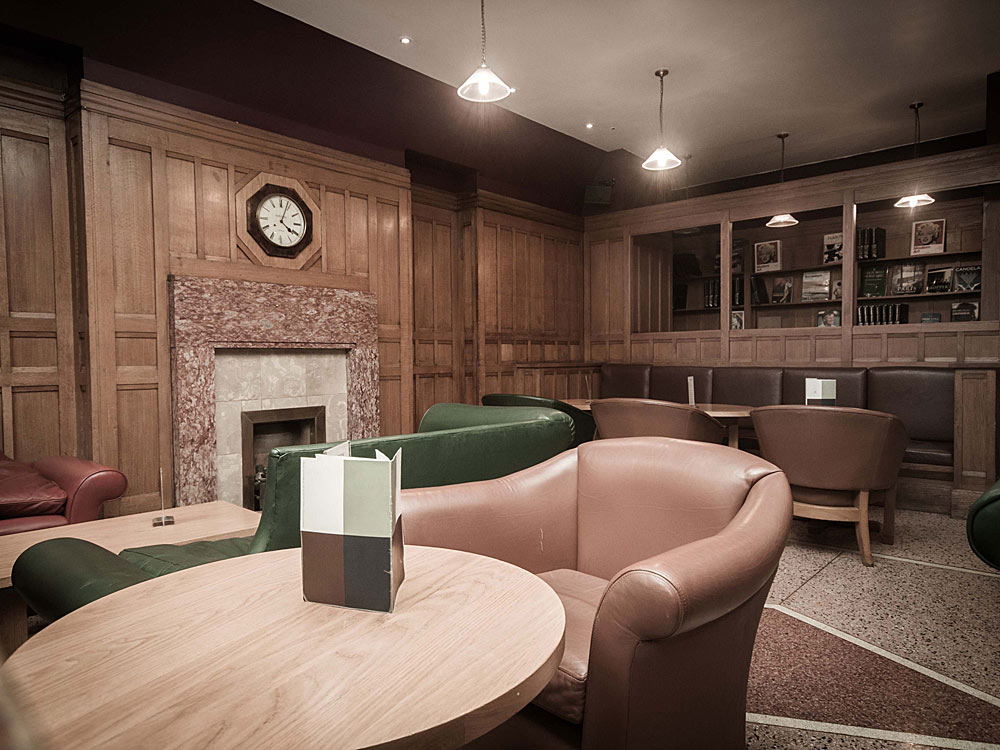 Lounge at The Clarence, Dublin, Ireland