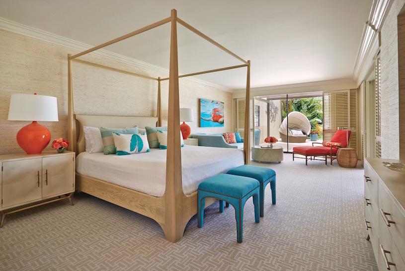 Four Seasons Maui at Wailea Lokelani Suite Master Bedroom