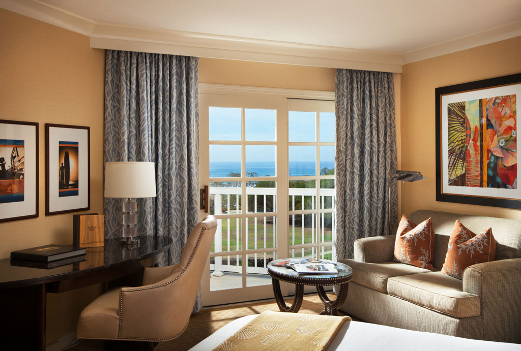 Ocean View Guest Room at Marriott Laguna Cliffs, Dana Point, CA