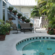Outdoor Pool at Heron House, Key West, FL