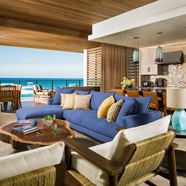 Villa Great Room at Chileno Bay Resort & Residences, Cabo San Lucas, B.C.S., Mexico