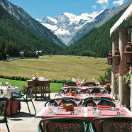 Dine at Bellevue Hotel & Spa Cogne, Italy