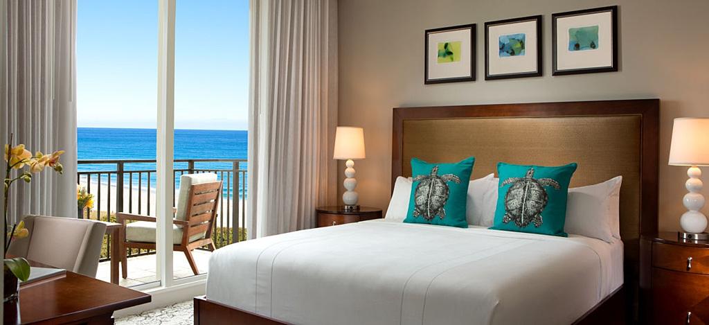 Guest Room at Marriott Singer Island Beach Resort, Singer Island, FL