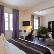 Guest Room at Le Vallon de Valrugues, Saint Remy De Provence, France