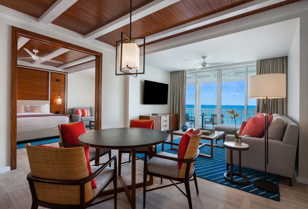 Suite Lounge at One&Only Ocean Club, Paradise Island, Nassau, Bahamas