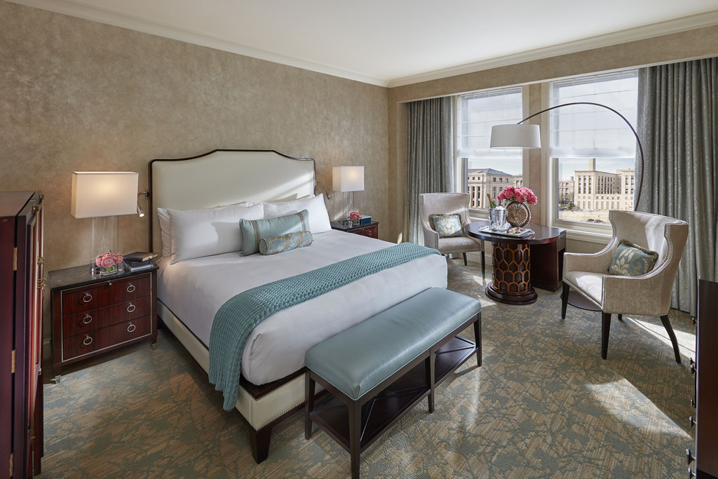 Deluxe King City View Guest Room at Mandarin Oriental Washington, DC, United States