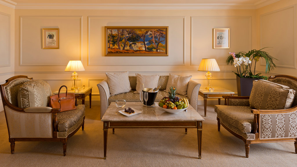 Alain Delon Suite at InterContinental Carlton Cannes, Cannes, France