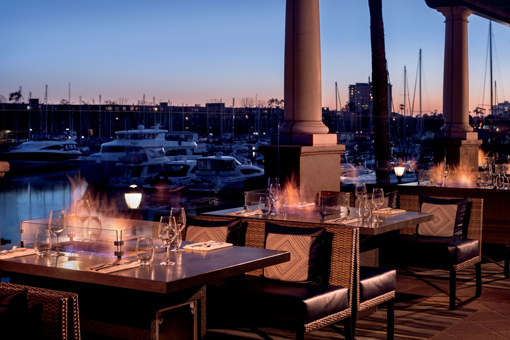 Dine with Views at Ritz Carlton Marina Del Rey, Marina Del Rey, CA