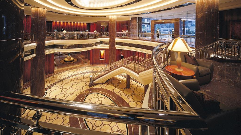 Lobby of Park Hyatt Melbourne, Melbourne, Victoria, Australia