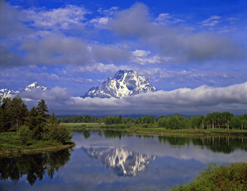 Mt. Moran at Oxbow Bend at Rusty Parrot Lodge And Spa, Jackson, WY