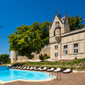 Outdoor Pool at Chateau de Mirambeau, France