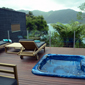Jacuzzi at Bay of Many Coves Resort, New Zealand
