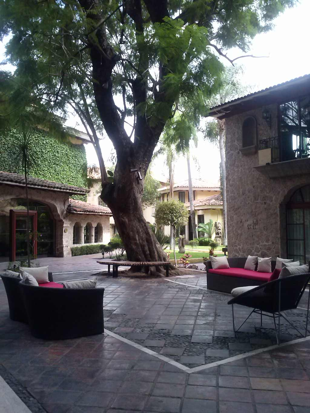 Terrace Lounge at Quinta Real Guadalajara, Guadalajara, JA, Mexico
