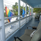 Guest Terrace at Heron House, Key West, FL