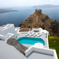 View from Villas at Grace Santorini, Santorini, Cyclades, Greece