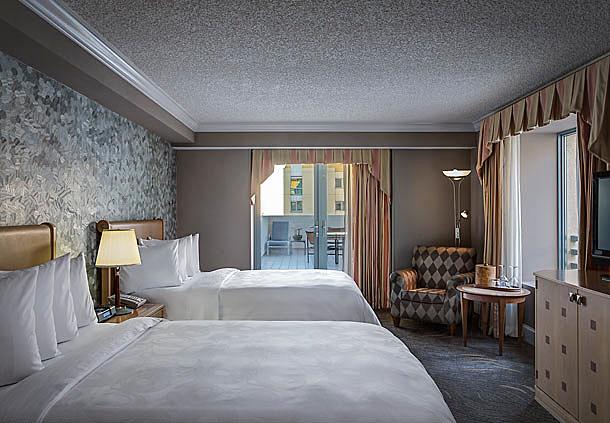 Double Guest Room at Santa Monica Le Merigot, Santa Monica, CA