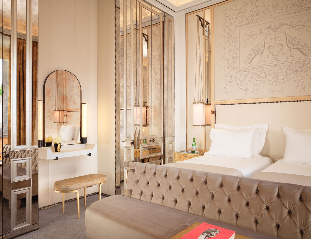 Double Superior Guestroom at Hotel Eden Rome, Italy