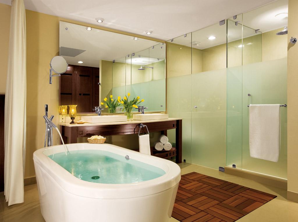 Guest Bath at Dreams Villamagna Nuevo Vallarta, Nuevo Vallarta, Mexico