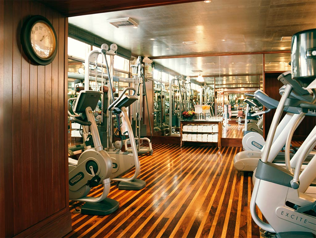 Gym at Shutters On The Beach, Santa Monica, CA