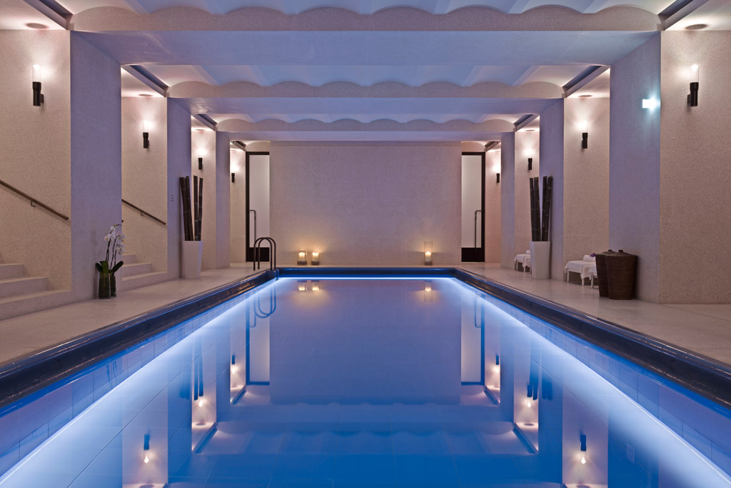 Indoor Pool at Cafe Royal Hotel, London, United Kingdom